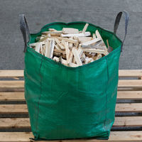 Bulk bag kindling (green garden waste bag)